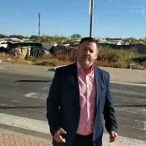 """Gómez: """"Ciudadanos responde con urgencia a las necesidades de las personas que viven en los asentamientos de Lepe"""""""
