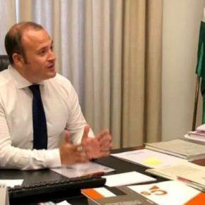 """Díaz: """"Ciudadanos ha hecho del Gobierno andaluz el mejor aliado de los autónomos y pymes onubenses"""""""