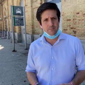 Ciudadanos pide a Cruz que aclare la situación de la antigua estación de Renfe y tome medidas para su protección
