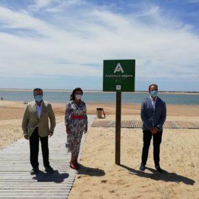 Cs valora que las banderas azules y el sello Andalucía Segura convierten Cartaya en referente de destino turístico seguro