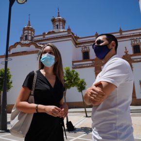 """María Ponce: """"La gestión de Ciudadanos va a convertir el Ayuntamiento de Rociana en un edificio accesible"""""""