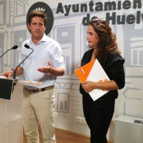 Cs pide a Cruz que defienda a Huelva y reclame ante el Gobierno de Pedro Sánchez la mejora de las infraestructuras de la ciudad