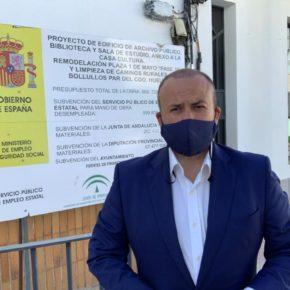 """Díaz (Cs): """"El PFEA es vital para luchar contra la despoblación y generar infraestructuras y empleo en los municipios de Huelva"""""""