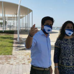 Cs pide al Ayuntamiento que coordine con el Puerto de Huelva un plan de mejora de espacios de hostelería en el Paseo de la Ría