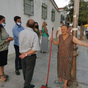 Cs pide al alcalde que intensifique las tareas de desinfección en parques, calles y plazas para aumentar la seguridad ante la Covid-19