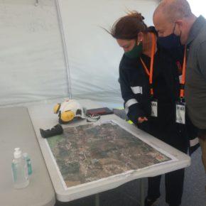 Ciudadanos destaca la experiencia y profesionalidad del Infoca y la UME para hacer frente al fuego de Almonaster