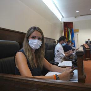 """María Ponce: """"Cerramos el curso con la satisfacción de haber sacado adelante dos propuestas de calado para la provincia"""""""