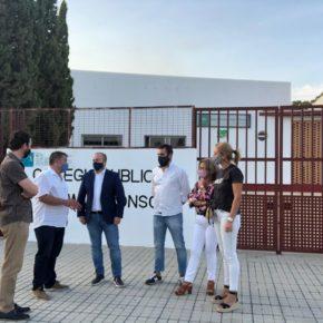 """Acebedo: """"La comunidad educativa de Niebla va a tener por fin un centro unificado gracias al trabajo de Ciudadanos en Educación"""""""
