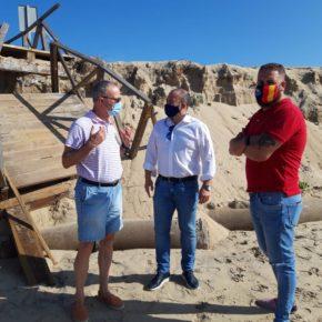 Ciudadanos exige que los planes de playa se terminen, se doten de presupuesto y ejecuten para salvar el litoral de Huelva